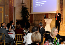 2010 - Friday 15th October, the FEIEA Grand Prix award ceremony and dinner organized on behalf of FEIEA by Vikom at the House of Industry in Vienna